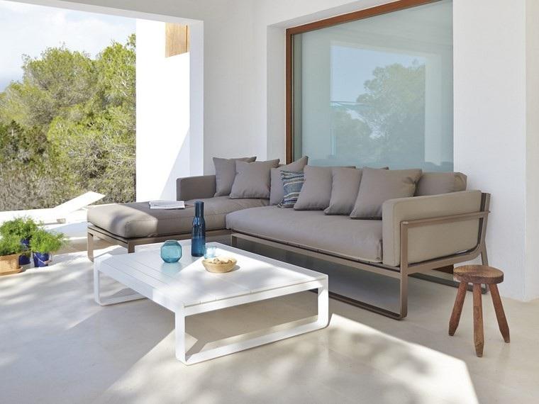 grandes decoracion terrazas grandes sofa sillas ideas