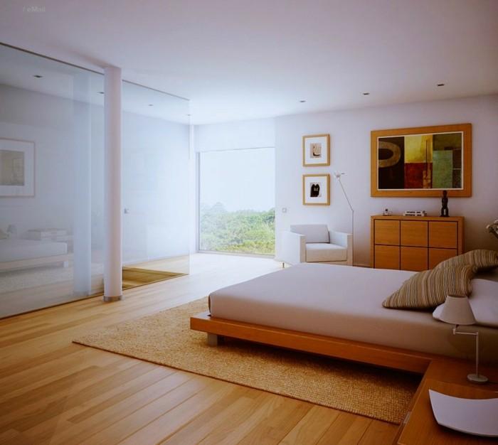 habitación moderna deco estilo minimalista