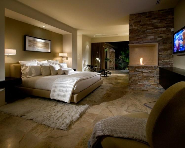 habitacion rustica moderna piedra