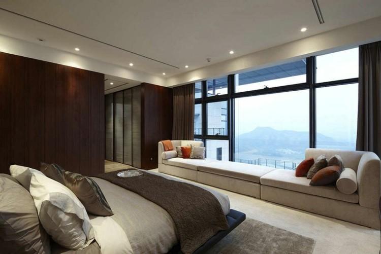 diseño habitacion vistas moderna