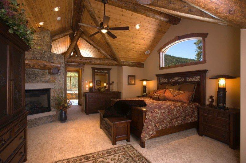 habitacion rustica estupendo diseño elegante