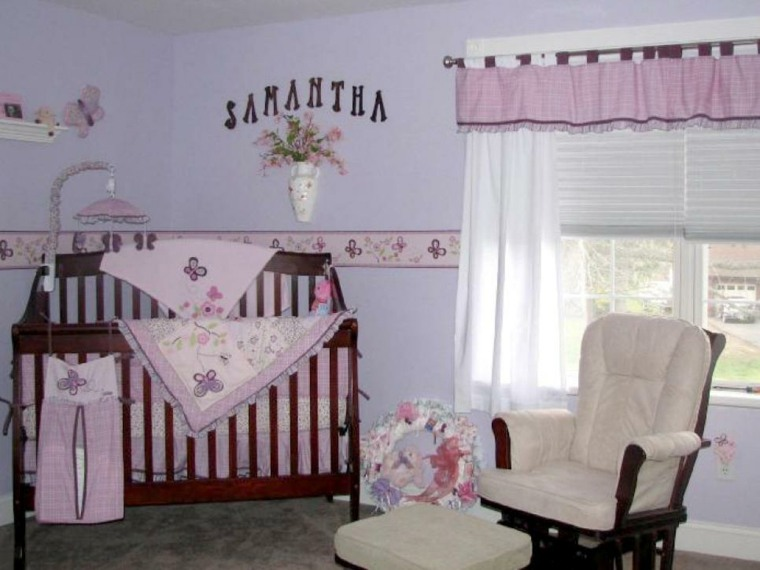 Habitaciones ni a bebe y decorado ideas de ensue o for Cuartos para nina bebe
