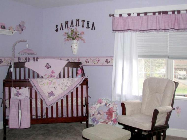 habitaciones niña bebe soluciones decorado blanco