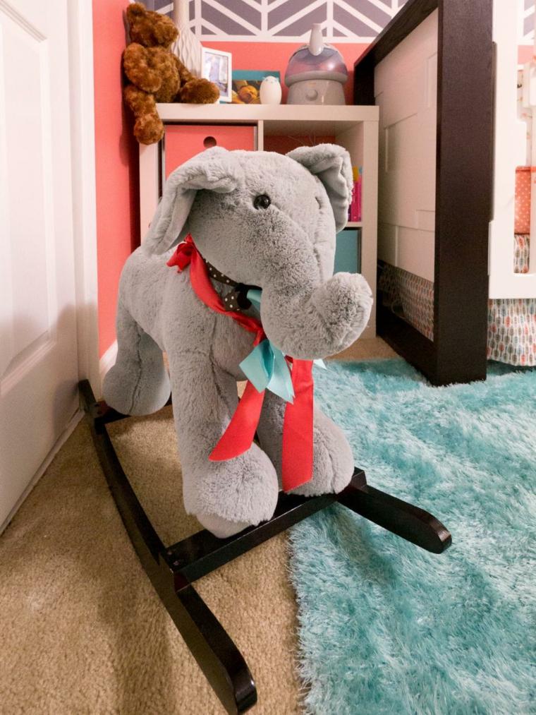 habitaciones niña bebe soluciones detalles creativos elefante
