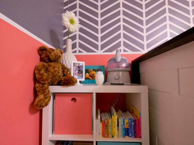 habitaciones niña bebe soluciones frescas juguetes flores