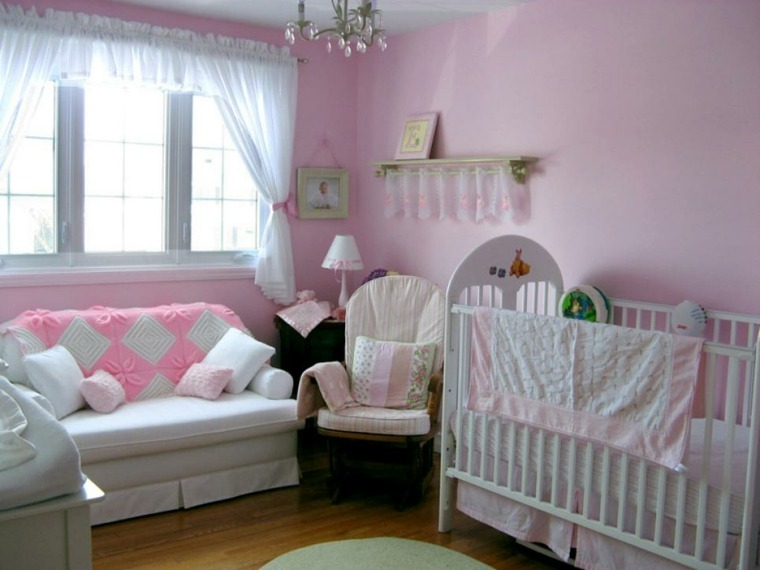 habitaciones niña bebe soluciones frescas cortinas
