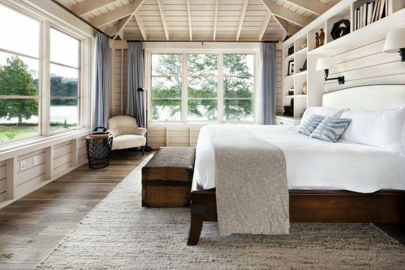 habitaciones rusticas diseño moderno blanco