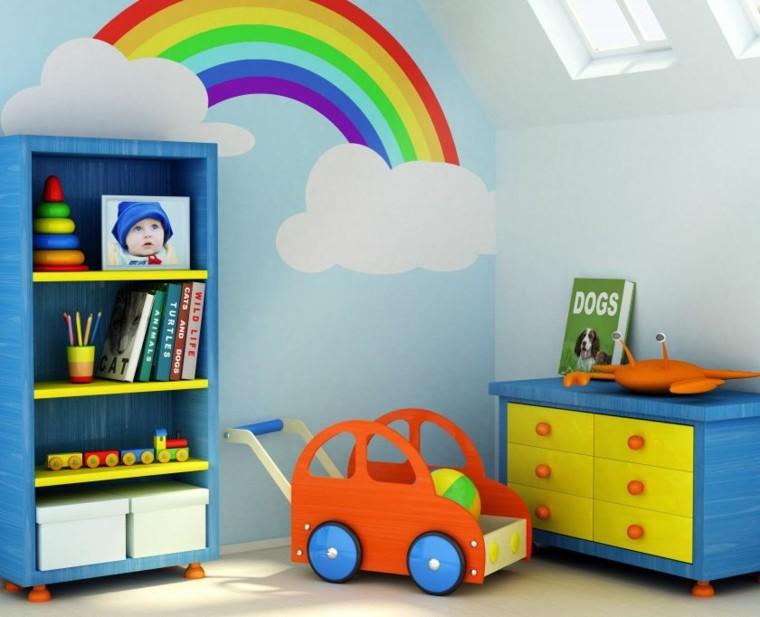 habitacion infantil zona juegos