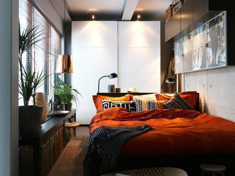 Ideas de decoracion para dormitorios pequeños   38 fotos