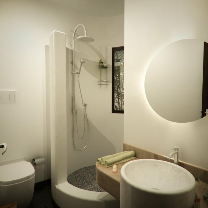 ideas decoracion baños pequeños plantas moderno