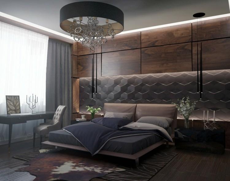 ideas decoracion de interiores dormitorios vidrios madera