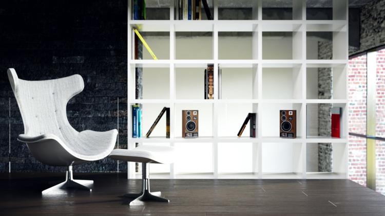 ideas decoracion de interiores pintura division papel