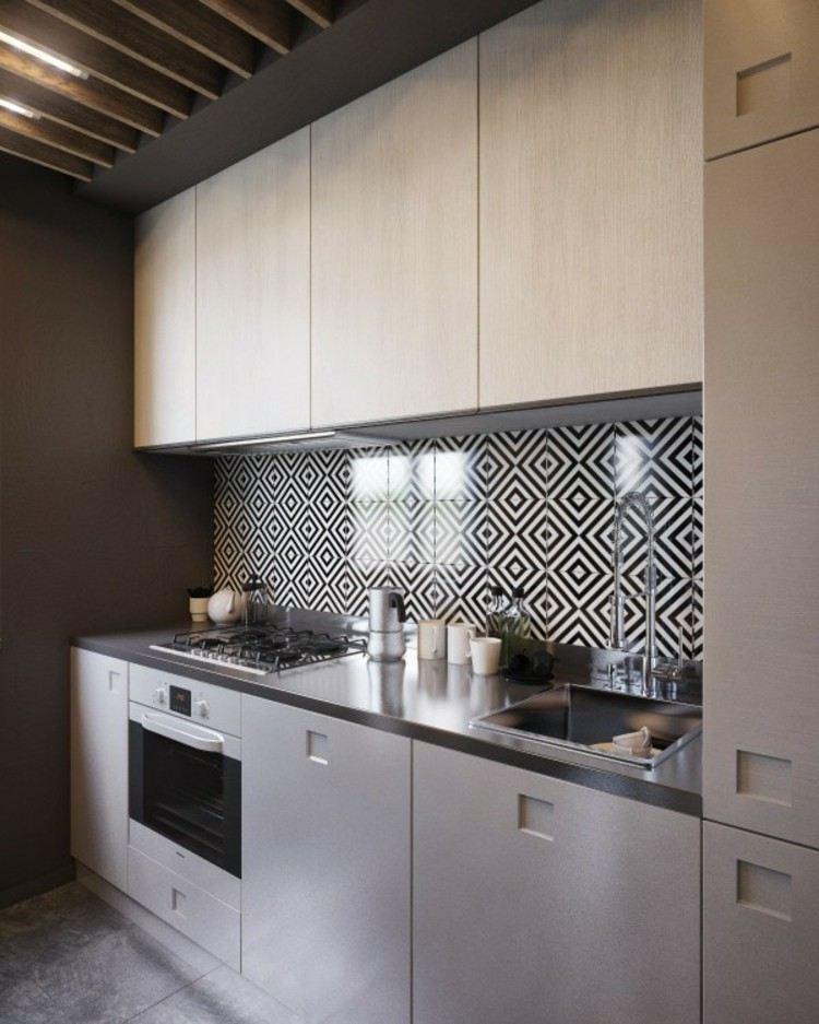 ideas decoracion de interiores pintura encimeras elegante