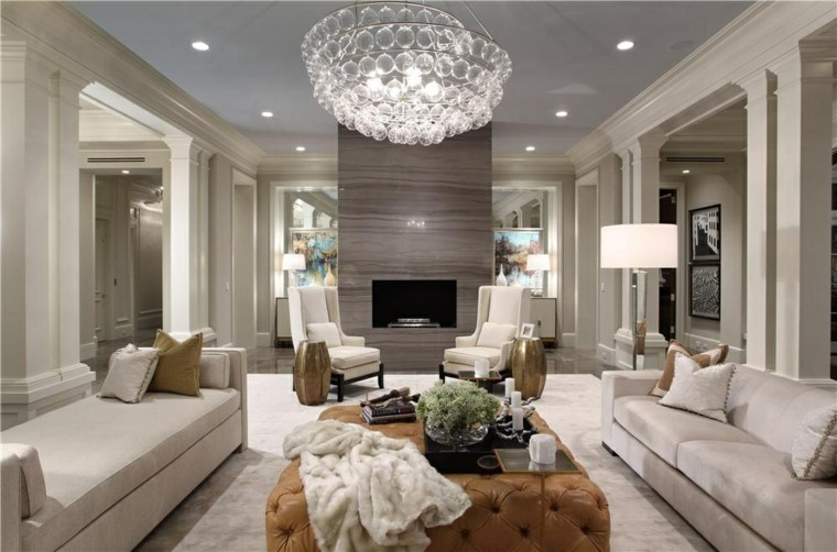 ideas decoracion de interiores salones amplios modernos