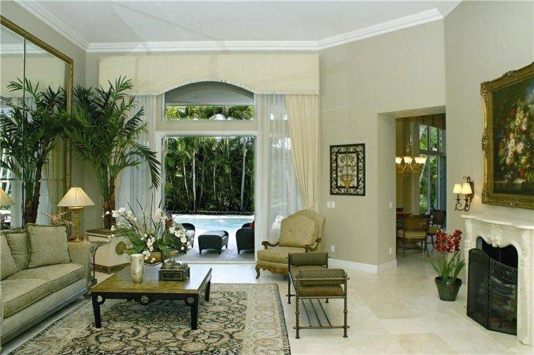 ideas decoracion de interiores salones banco precioso moderno