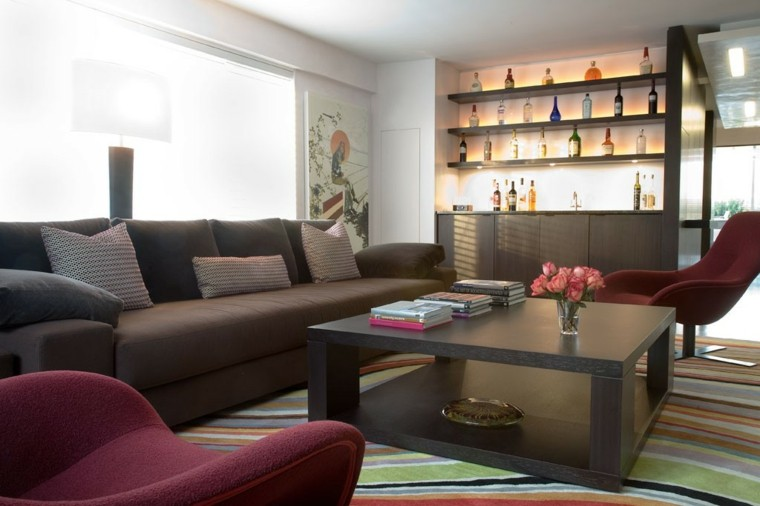 Ideas decoracion de interiores salones originales - Muebles salon originales ...