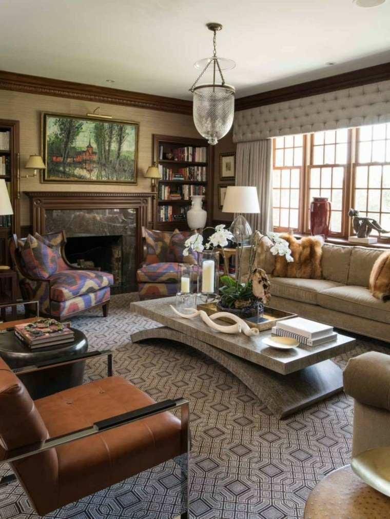 ideas decoracion muebles estilo rustico moderno