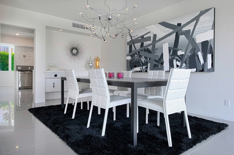 Decorar Mesa Salon Comedor. Salon Comedor Pequeo Diseo With ...