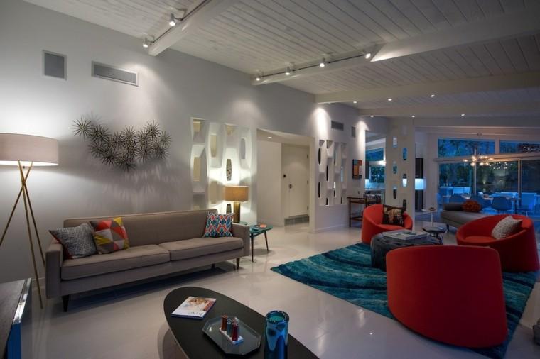 ideas decoracion salon elementos decorativo pared moderno