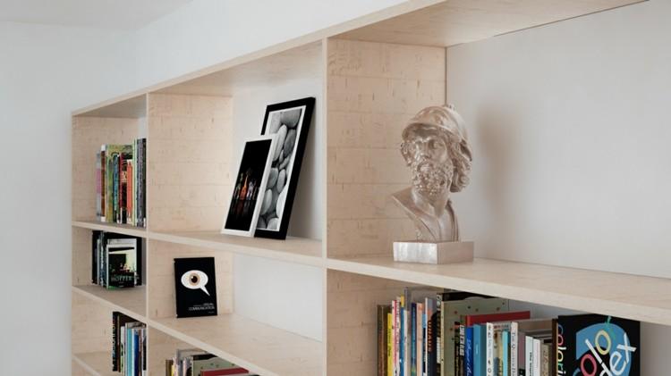 ideas decorado fresco casas libros negro