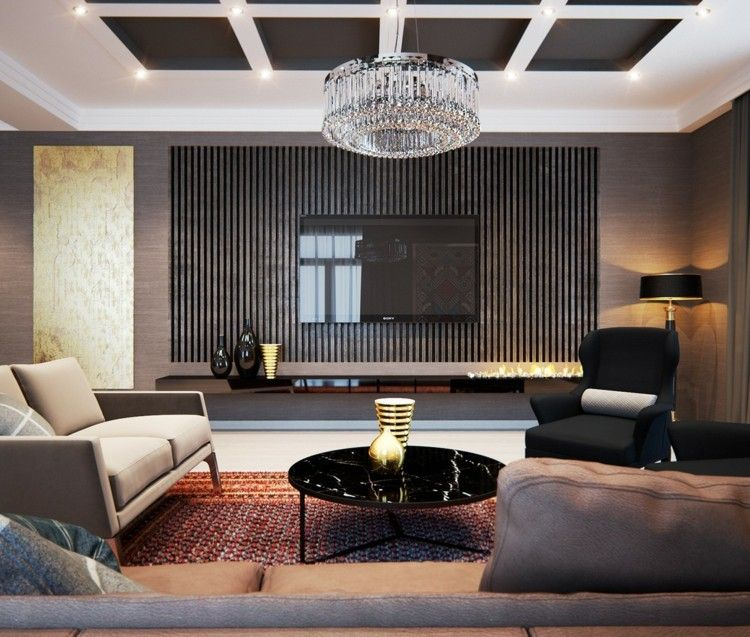 ideas estilos casa decorado dorado cristales