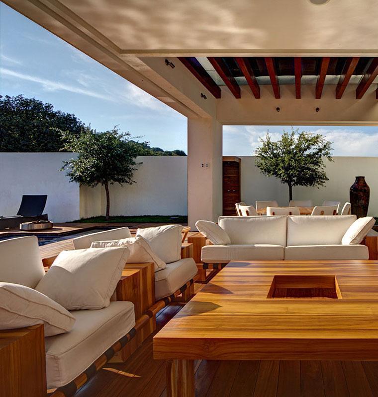 diseño terraza cubierta ventilada