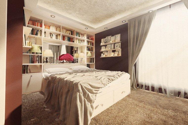 ideas para decorar habitacion dormitorio apartamento diseno rustico ideas