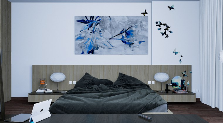 ideas para decorar habitacion dormitorio cuadro original ideas