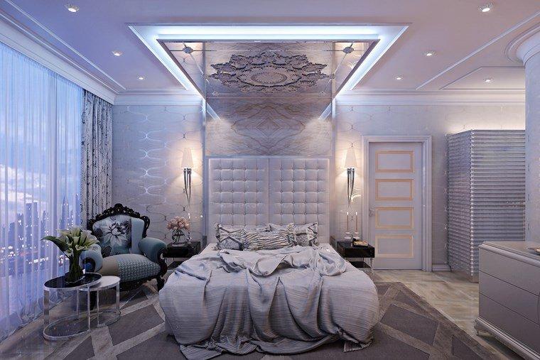 Ideas para decorar habitacion que para el aliento - Dormitorio clasico moderno ...