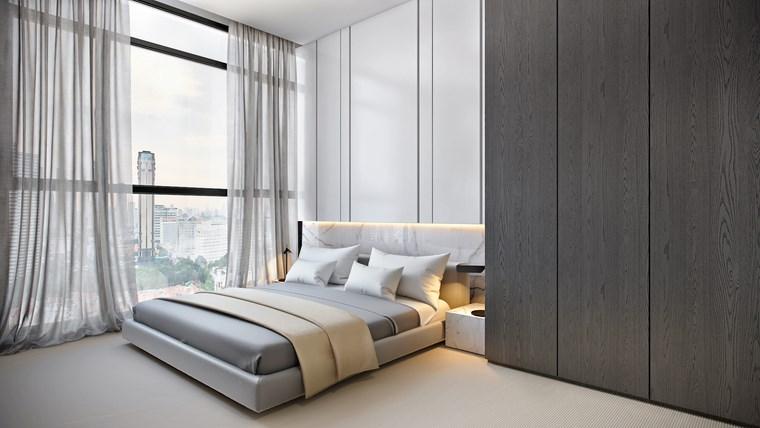 decorar habitacion dormitorio diseno estilo minimalista ideas