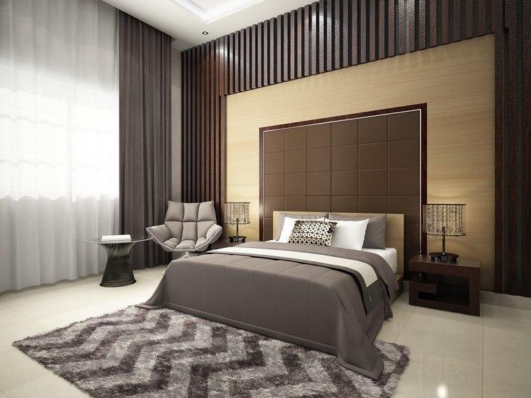 decorar habitacion dormitorio pared madera distinta ideas