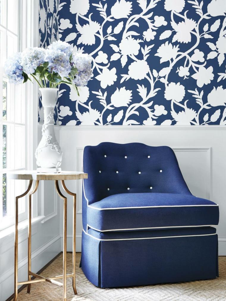 ideas para reformar mi casa casa azules detalles jarrones
