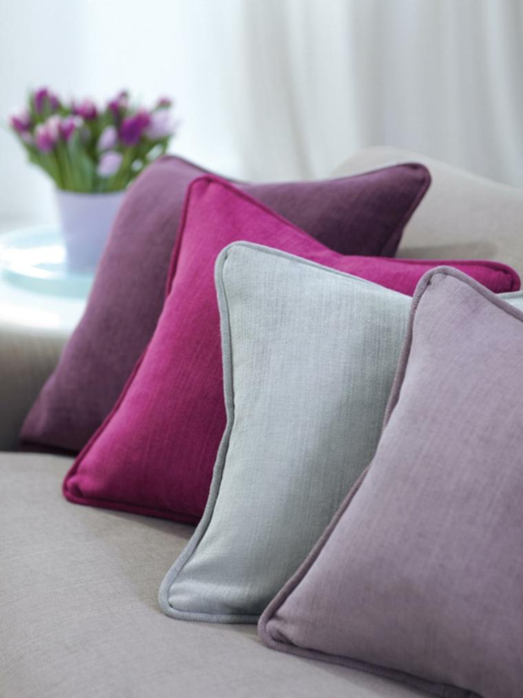 ideas para reformar mi casa cojines colores colorido