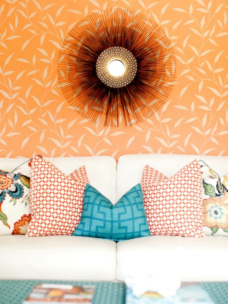 ideas para reformar mi casa papeles paredes cuadros