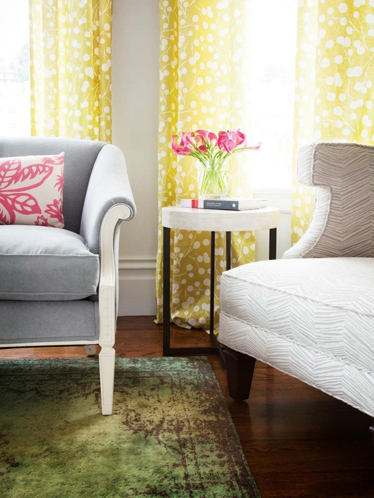 ideas para reformar mi casa pendientes flores cortinas