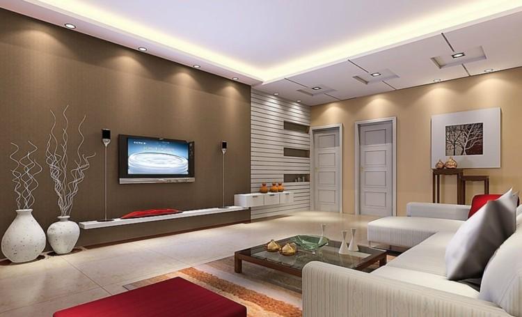 Iluminacion salon y diseños con luminarias variadas.