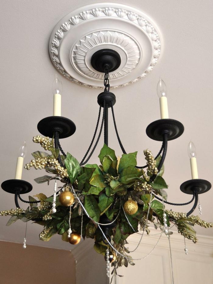 invierno decoracion lamparas detalles plantas