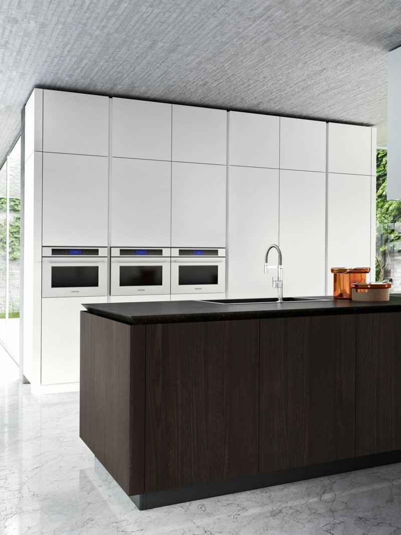 isla de cocina diseño moderno