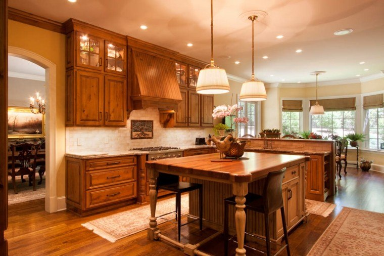 Dise os de cocinas ideas originales para inspirarse - Mesa cocina diseno ...