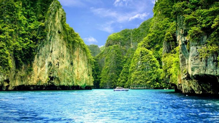 islas destinos turimso detalles yate marino