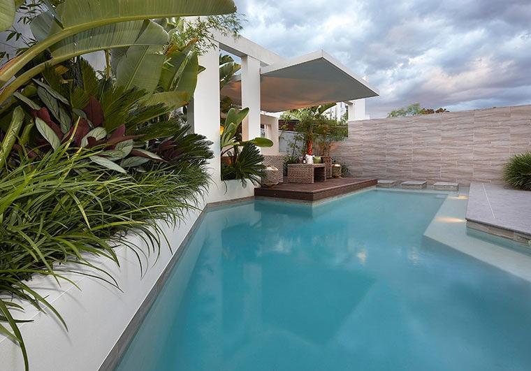 Terrazas cubiertas decoracion y dise o 48 ideas Duchas modernas puerto rico