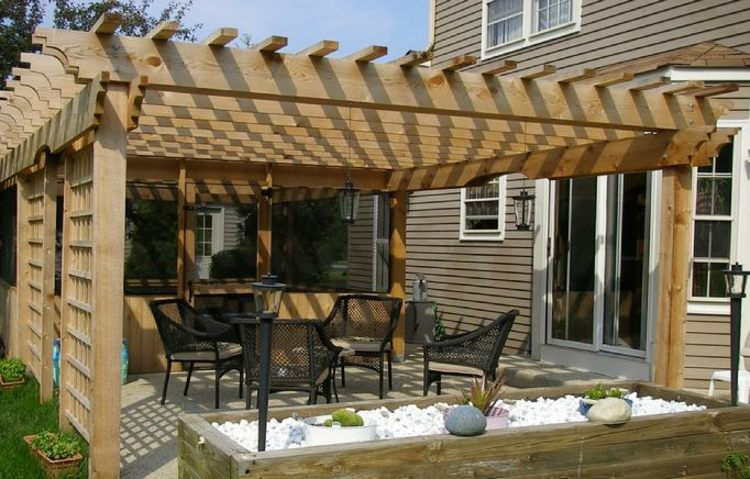 jardineras ideas soluciones metales patio