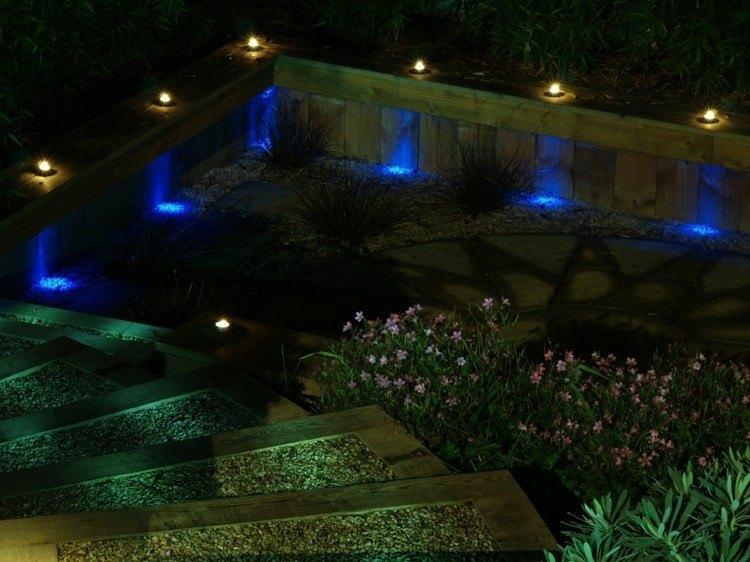jardines bombillas led para transformar el entorno