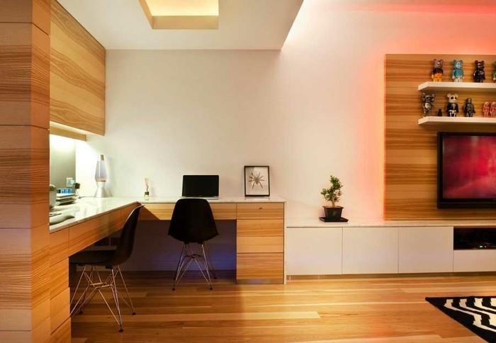 laminados madera habitación diseño estudio