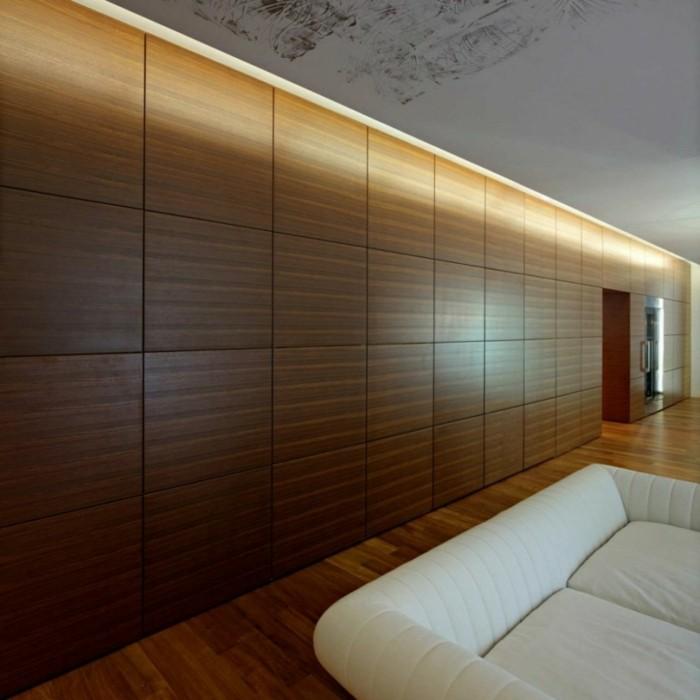 Madera Para Pared Interior. Ideas Creativas De Escaleras Colgantes Y ...