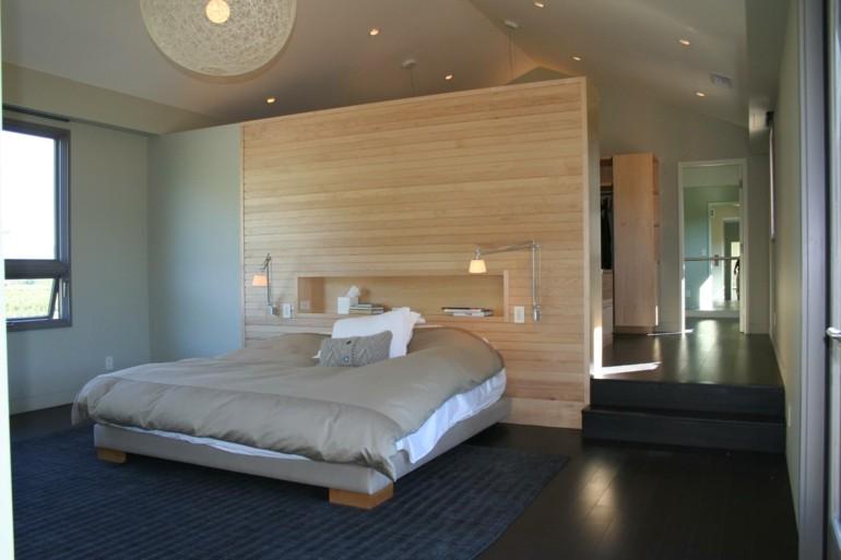 iluminación moderna dormitorio lamparas