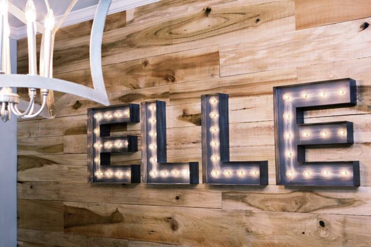 letras decoracion detalles paredes ambientes
