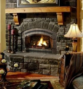 chimeneas rusticas de lea para estancias acogedoras
