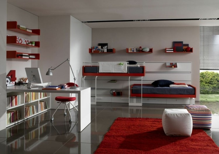 rojo decorado ideas variantes