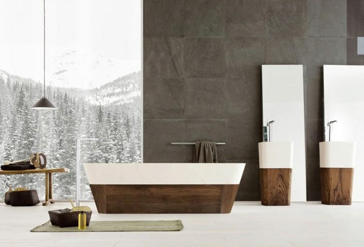 maderas suelos detalles nieve exteriores